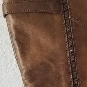 Born Shoes - Born brown tall boots buckle 9.5